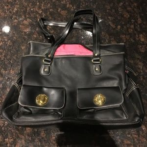 Isaac Mizrahi laptop bag